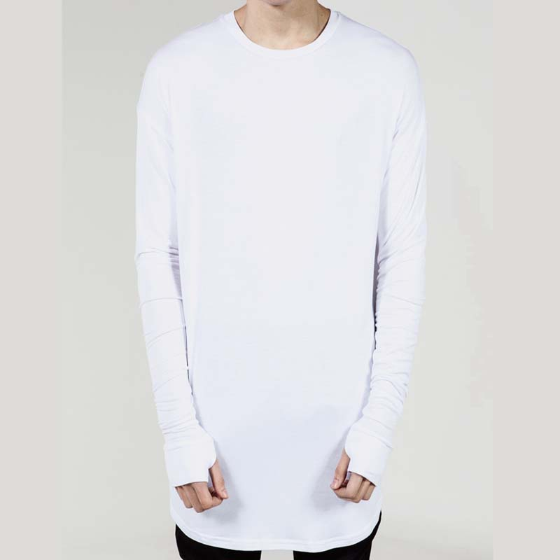 Swag-Clothing-For-Men-Hipster-Extended-Tee-Long-Sleeve-Hip-Hop-Tshirt-For-Men-Big-and