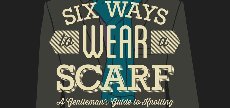 6 ways to wear scarf